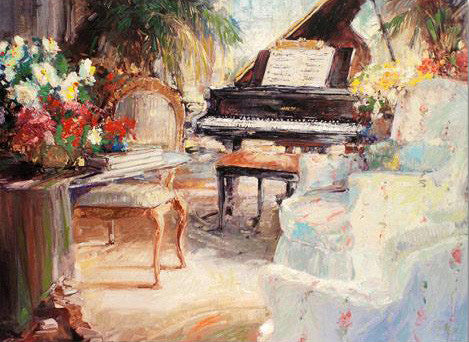 Classic Comfort Stephen Shortridge Fine Art Canvas Giclee Print Artist Hand Embellished and Signed