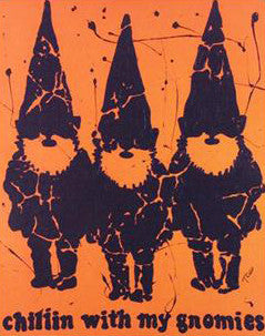 Chillin with my Gnomies Todd Goldman Canvas Print Artist Hand Signed and Numbered