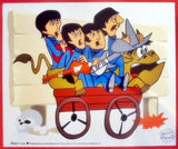 The Beatles: Bullride - Limited Edition Sericel with a Full Color Background by the DenniLu Company