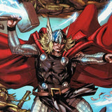 Thor Heaven Earth 3 Marvel Comics Artist Pascal Alixe Fine Art Canvas Giclee Print Numbered