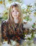 Christine Vidan Vittorio Dangelico Canvas Giclee Print Artist Hand Signed and Numbered