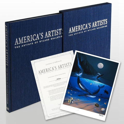 Americas Artists The Artists of Wyland Galleries Art Book Wyland Artists Hand Signed and Numbered