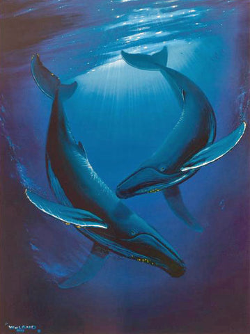 Song of the Deep Wyland Printers Proof Lithograph Print Artist Hand Signed and Numbered
