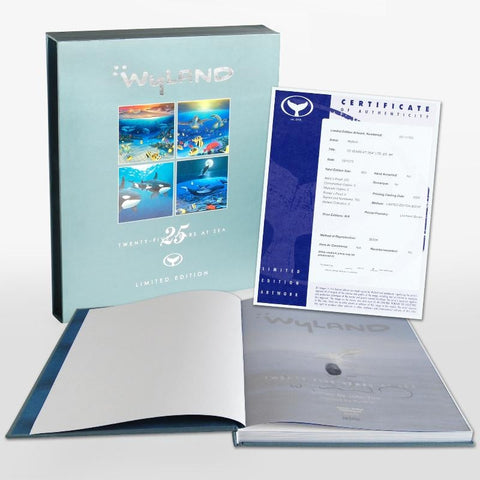 John Yow 25 Years at Sea Fine Art Book Wyland Hand Signed and Numbered