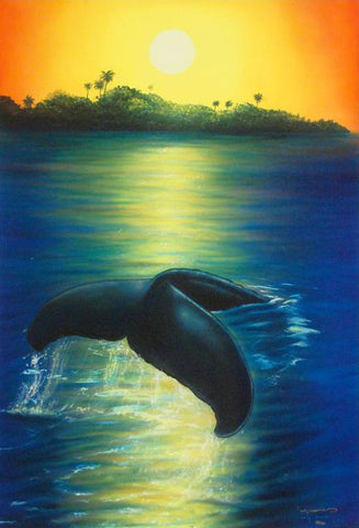 New Dawn Wyland Canvas Giclee Print Artist Hand Signed and Numbered