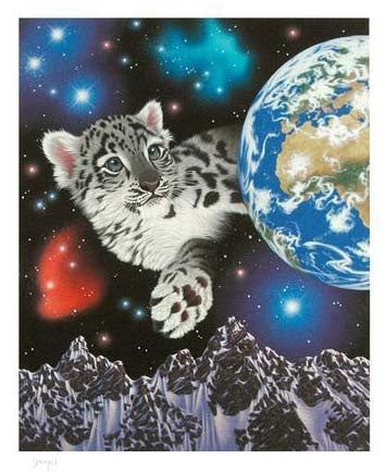 William Schimmel My Brothers Himalayan Home Artist Proof Fine Art Giclee Print Artist Hand Signed and Numbered
