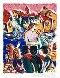 The Kings New Suit Zamy Steynovitz Fine Art Serigraph Print Artist Hand Signed and Numbered