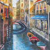 Venice Anatoly Metlan Fine Art Artist Proof Lithograph Print Artist Hand Signed and AP Numbered