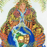 Earth Mother Linnea Pergola Fine Art Canvas Giclee Print Artist Hand Signed and Numbered