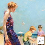 Good Ole Days Pino Daeni Fine Art Giclee Print Artist Hand Signed and Numbered