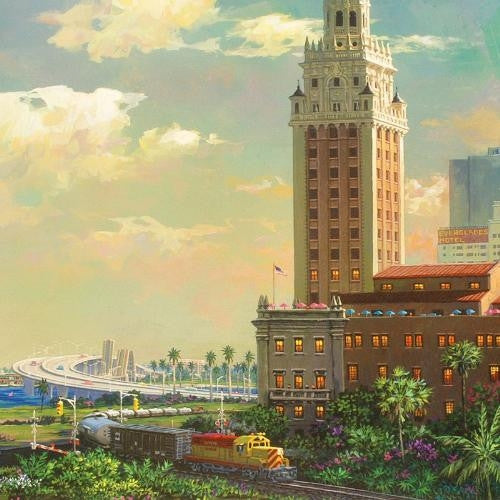 Alexander Chen Freedom Tower And Port Of Miami Artist