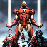 Iron Man 84 Marvel Comics Artist Steve Epting Canvas Giclee Print Numbered