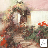 Colorful Archway Pino Daeni Fine Art Giclee Print Artist Hand Signed and Numbered
