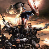 Marvel Comics Captain America 9 Artist Steve Epting Fine Art Canvas Giclee Print Numbered