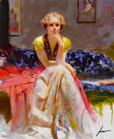 Enchantment Pino Daeni Giclee Print Artist Hand Signed Numbered