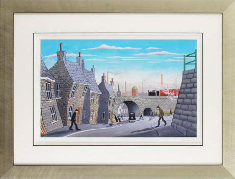 Underneath the Arches John Wilson Giclee Print Artist Hand Signed Numbered and Framed