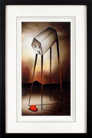 One Step Closer Peter Smith Giclee Print Artist Hand Signed Numbered and Framed