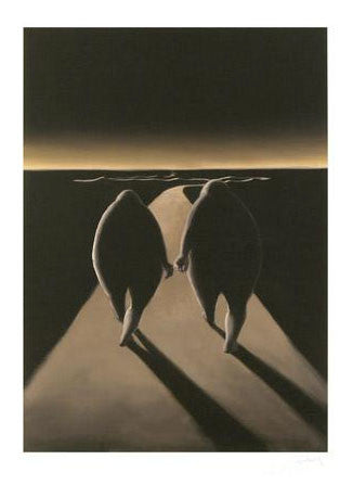 Nadeem Chughtai The Journey Fine Art Giclee Print Artist Hand Signed and Numbered