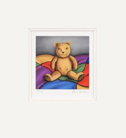 Billy the Bear Fine Art Giclee Print Artist Paul Horton Hand Signed Matted and Numbered