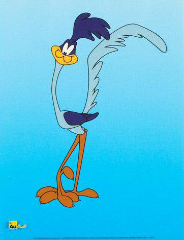 Road Runner Warner Bros Looney Tunes Licensed Sericel Authentic Images Published