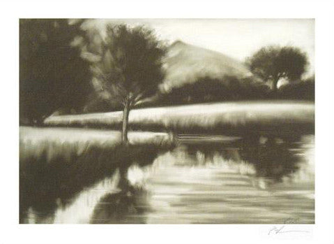 Paul Powis Le Fleuve I Fine Art Giclee Print Artist Hand Signed and Numbered