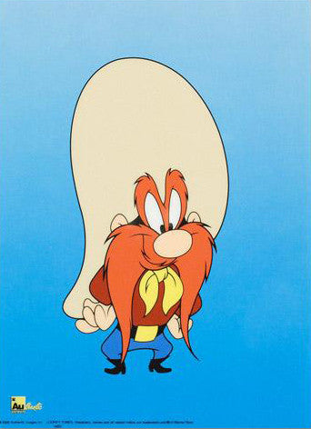 Yosemite Sam Warner Bros Looney Tunes Sericel From Authentic Images Art Deals