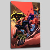 Secret Invasion X Men 1 Marvel Comics Artist Cary Nord Canvas Giclee Print Numbered