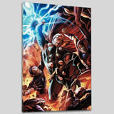 Secret Invasion Thor 2 Marvel Comics Artist Doug Braithwaite Canvas Giclee Print Numbered