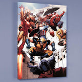 Annihilators Earthfall 1 Marvel Comics Artist Tan Eng Huat Fine Art Canvas Giclee Print Numbered