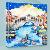 A Trip To Venice Fine Art Canvas Giclee Print Artist Numbered with Artist Authorized Signature