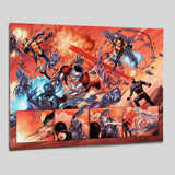 Astonishing X Men N12 Marvel Comics Artist John Cassaday Canvas Giclee Print Numbered
