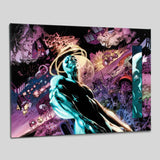 Silver Surfer In Thy Name 3 Marvel Comics Artist Tan Eng Huat Fine Art Canvas Giclee Numbered