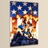 Ultimate Avengers 8 Marvel Comics Artist Carlos Pacheco Canvas Print Numbered