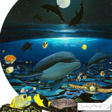 Moonlight Celebration - Limited Edition Giclee on Canvas by Wyland
