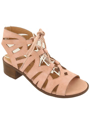 New <br/> VISION-62T-KIDS <br /> Girls low heel gladiator Sandal <br> $ 9.00 / Pair