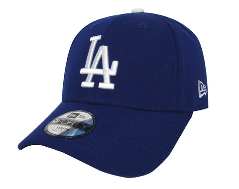 Los Angeles Dodgers Youth Adjustable New Era The League Cap Hat Blue