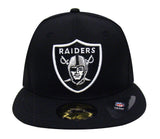 Oakland Raiders Fitted 3D Helmet Logo New Era 59Fifty Cap Hat Black