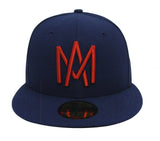 Aguilas de Mexicali Fitted Mexican Pacific Baseball League New Era 59Fifty Navy