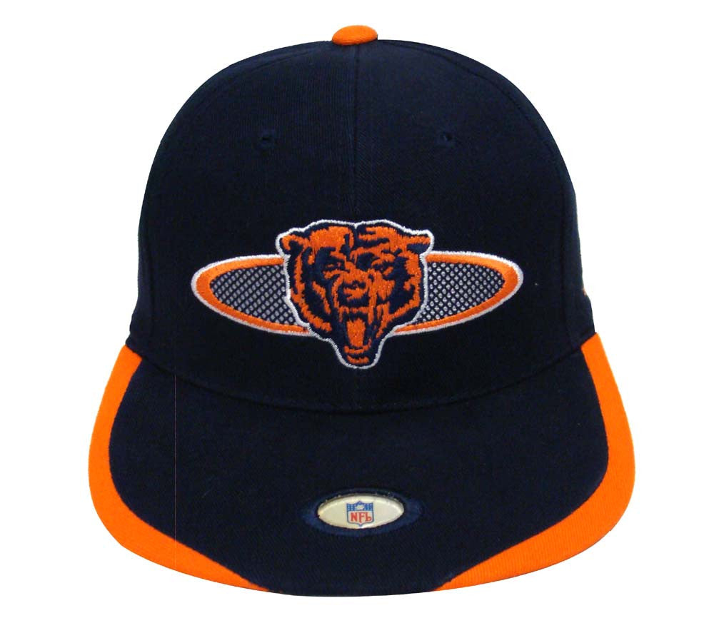 Chicago Bears Snapback Retro Vintage The Zone Cap Hat Navy – THE 4TH ... 8ecf575ca174