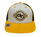 Georgia Institute of Technology Snapback Retro Vintage Trucker Cap Hat Tri