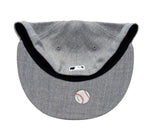 Los Angeles Dodgers Fitted New Era 59Fifty Big D Logo  Grey Wool Cap Hat