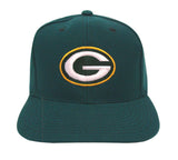 Green Bay Packers Snapback Vintage Logo Cap Hat Green