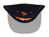 Baltimore Orioles Snapback Retro Vintage Name Cap Hat Black Orange