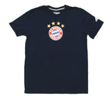 Bayern Munich Men's Adidas Team Crest T-Shirt Navy