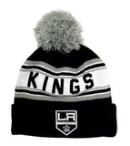 Los Angeles Kings Beanie Reebok Youth (8-20) Embroidered Cuffed Knit Pom