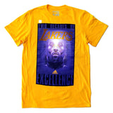 Los Angeles Lakers Mens T-Shirt Adidas Two Decades of Excellence Kobe Yellow
