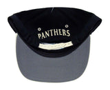 Carolina Panthers Snapback Retro Vintage Logo Cap Hat Black Beige
