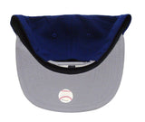 Los Angeles Dodgers Snapback New Era Logo Grand Redux Cap Hat Blue Grey