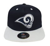 Los Angeles Rams Snapback Youth (8-20) Logo Cap Hat Navy White