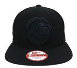 Houston Rockets Snapback New Era Graphite Cap Hat Black
